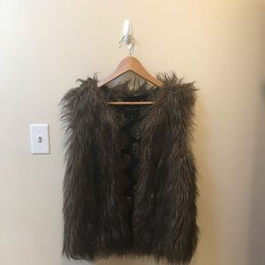 🌙Sanctuary Faux Fur Vest